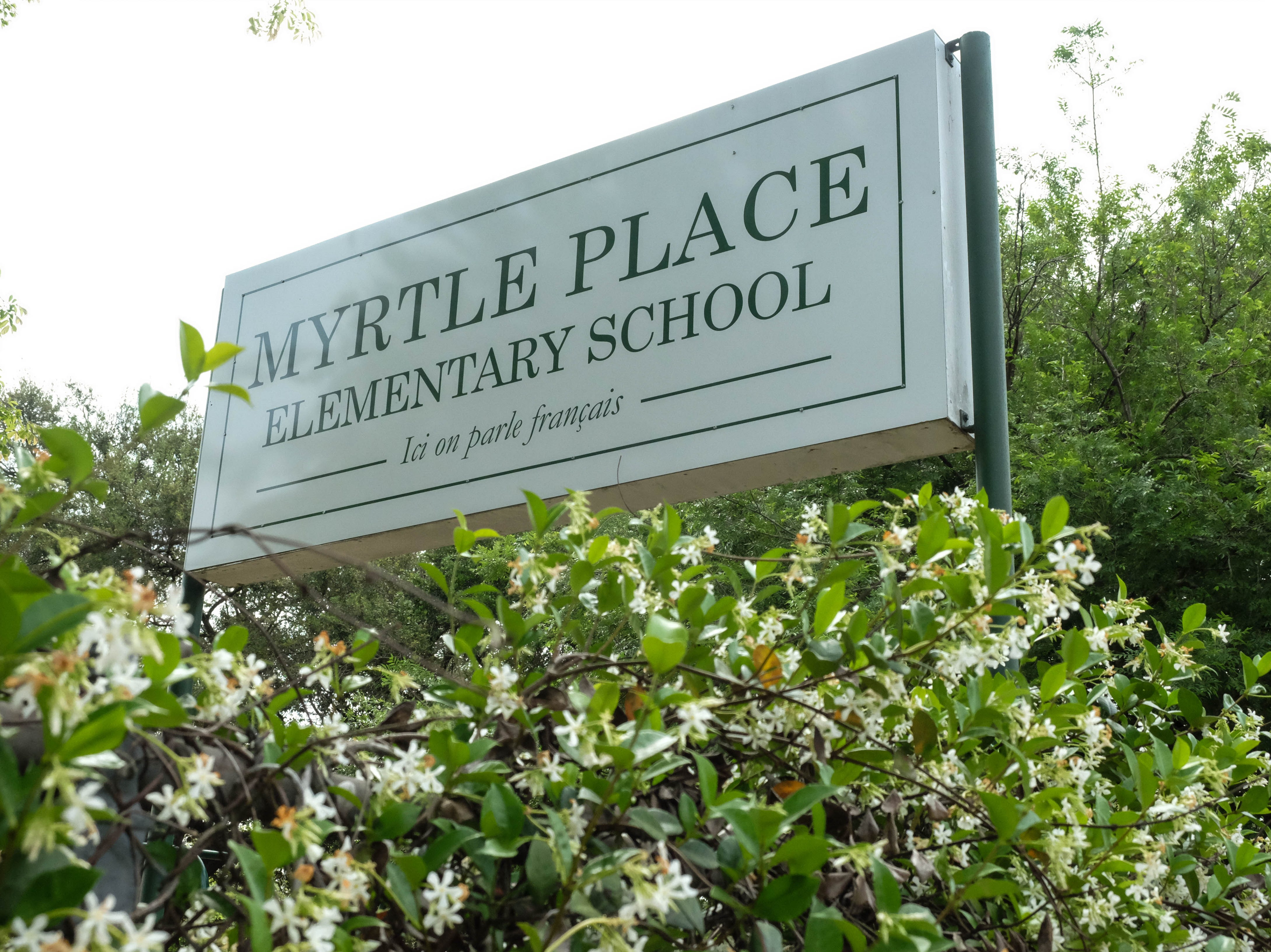 Myrtle Place Elementary School is hosting 32 students from Martinique this week. They will perform songs in French, Creole and English at Festival International on April 28, 2019.