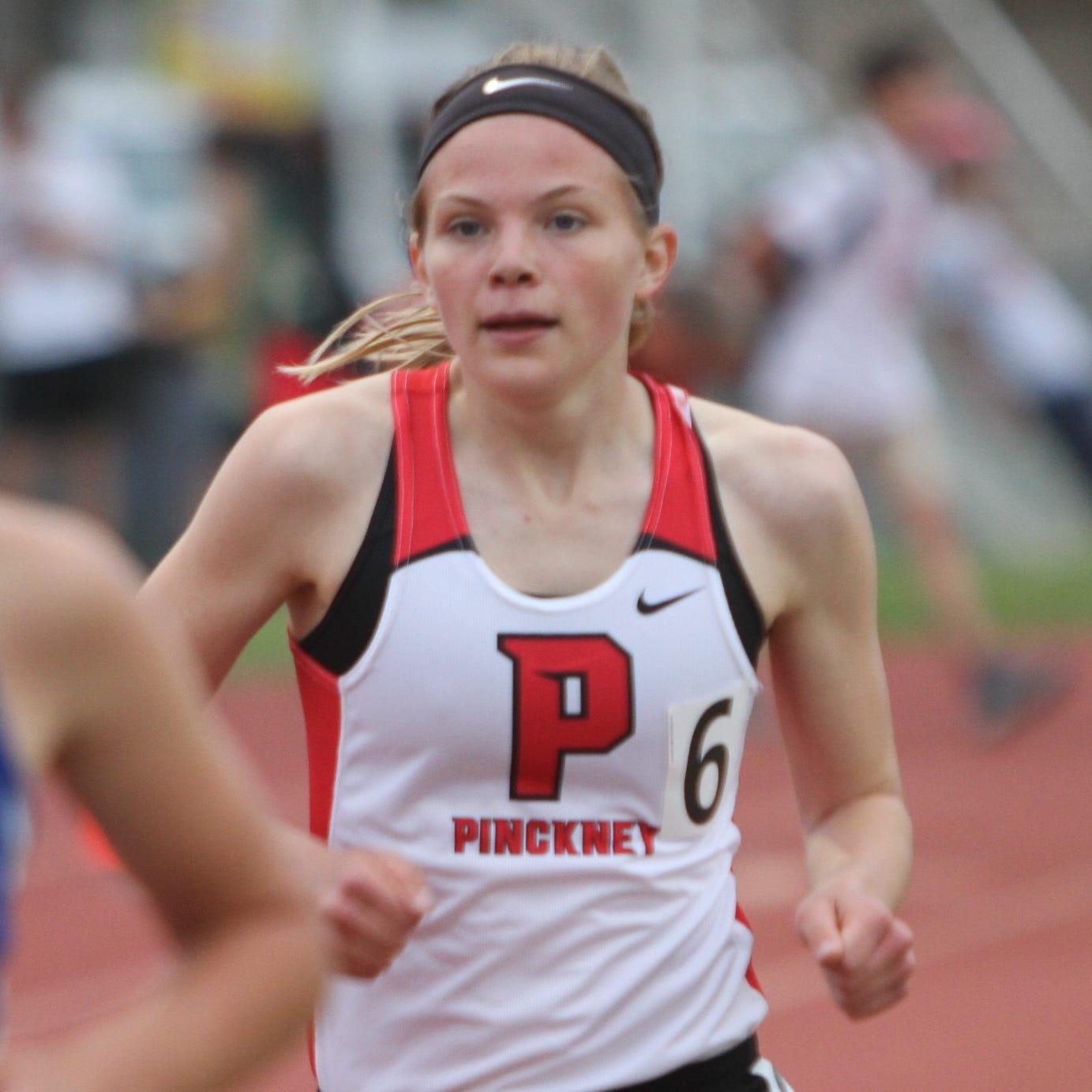Prep roundup: Pinckney boys, girls stay unbeaten in SEC White track and field