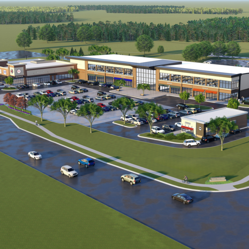 New retail, offices and storage buildings envisioned on Grand River Avenue near Howell