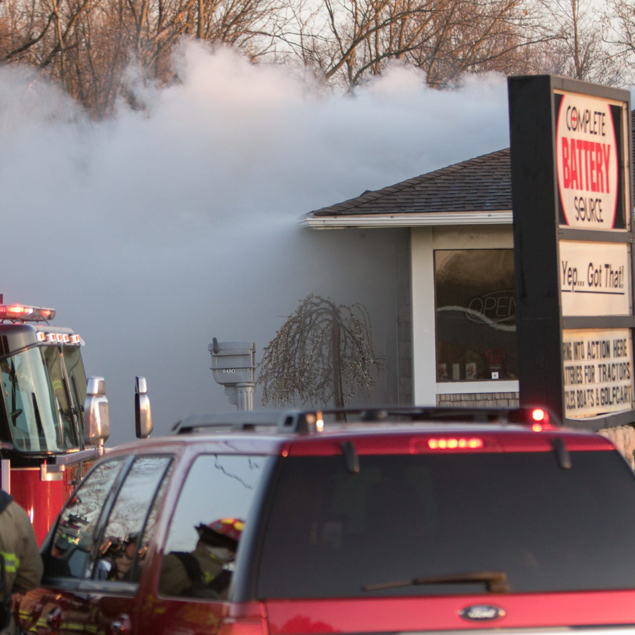 Genoa Township's Complete Battery Source damaged after fire destroys roof