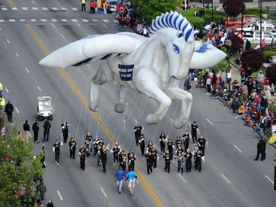 This year's Republic Bank Pegasus Parade is superhero-themed.