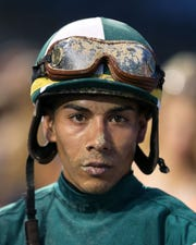 Jockey Jose Ortiz will be on Tacitus in the 2019 Kentucky Derby.