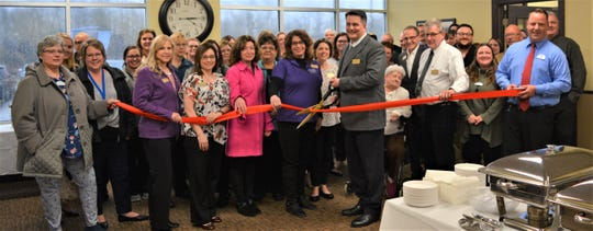 A ribbon-cutting ceremony at the new field office for Sharon S. Richardson Community Hospice, 4411 Calumet Ave., Suite 4, Manitowoc.