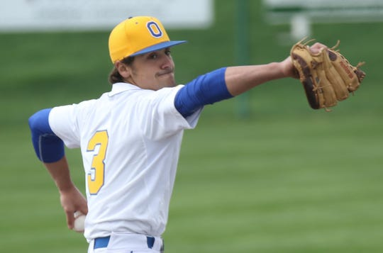 Ontario's Noah Creed took a no-hitter into the sixth inning and delivered a complete-game 1-hitter in the Warriors' 6-2 win over Clear Fork on Tuesday night.