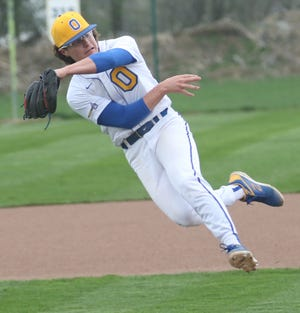 Ontario's Avery Fisher is an Ohio State Buckeye commit playing shortstop for the Warriors. He sat down to take 10 questions about his love for baseball this week with the Mansfield News Journal.