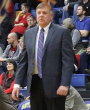 Ontario boys basketball coach Joe Balogh enters the Ohio High School Basketball Coaches Association Hall of Fame in 2019.