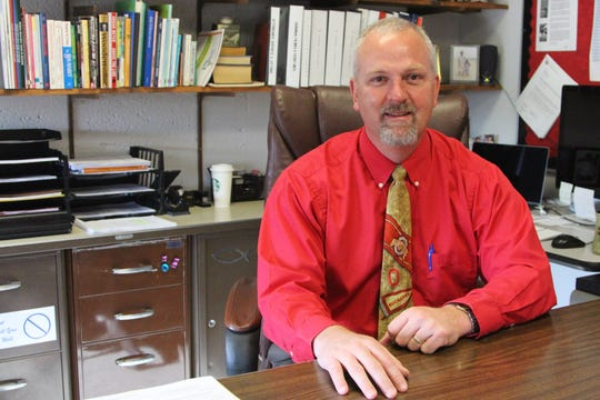 Lane Warner, a longtime principal at Pleasant Middle School, will be leading Elgin Local Schools next school year as the district's new superintendent.