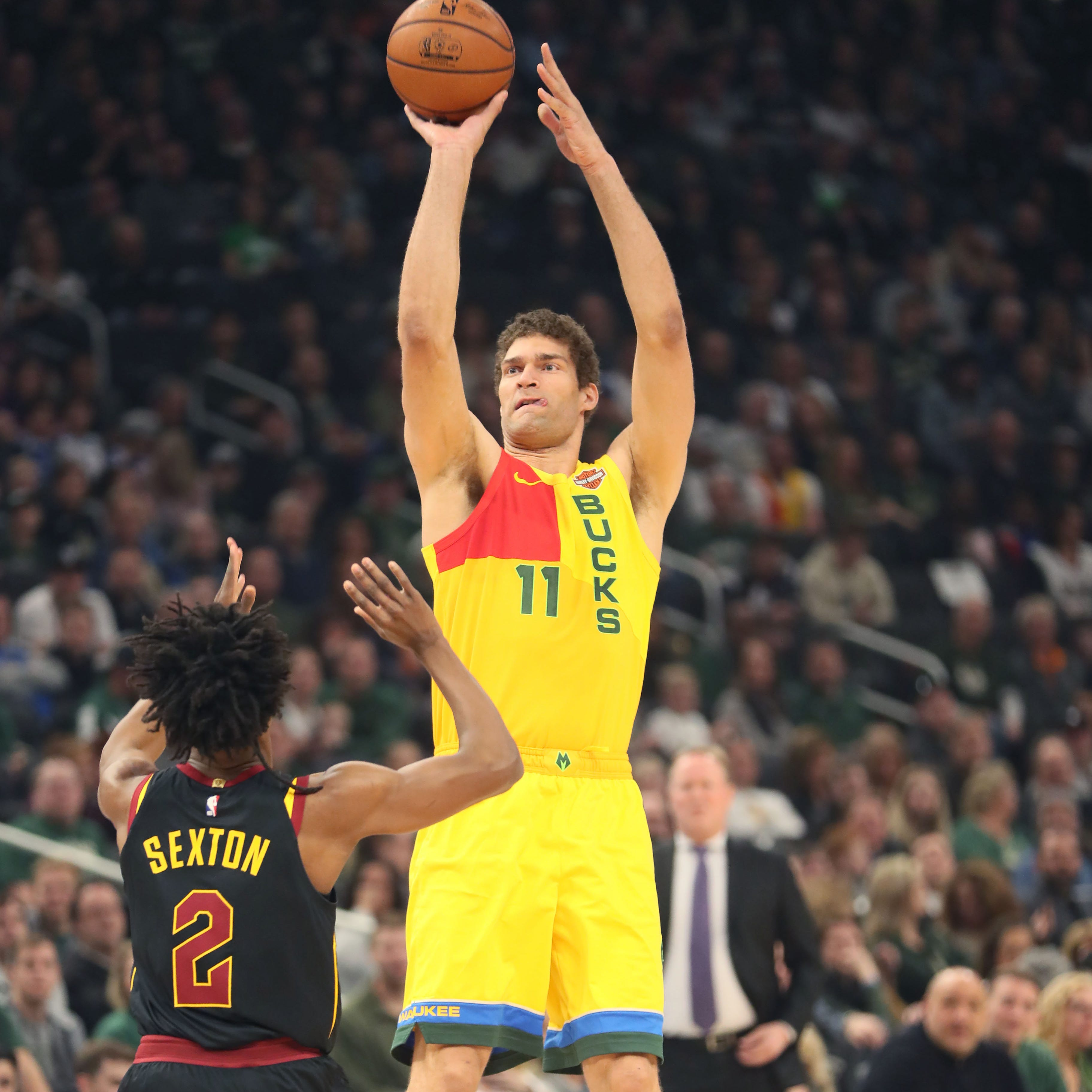 Nickel:  Seven-foot-tall Brook Lopez is one of the best shooters in the NBA. Here's why.