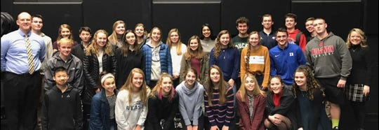 The School District of Elmbrook's Hope Squad has 75 members between Brookfield East and Brookfield Central, said Andrew Farley, Brookfield East principal. This is Brookfield East's Hope Squad.
