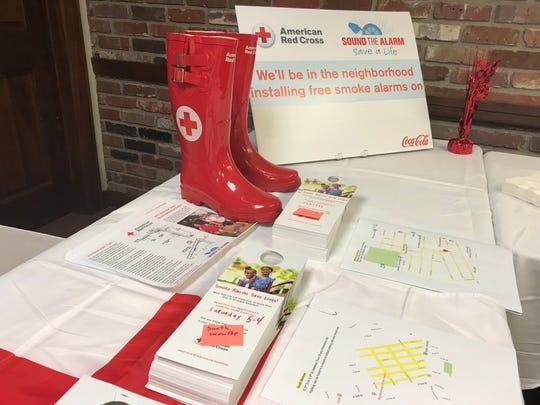 Volunteers traveled through Monroe neighborhoods Wednesday to notify the community about upcoming smoke alarm installation days.