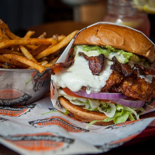 Bad Daddy's Burger Bar: You can create your own burger.