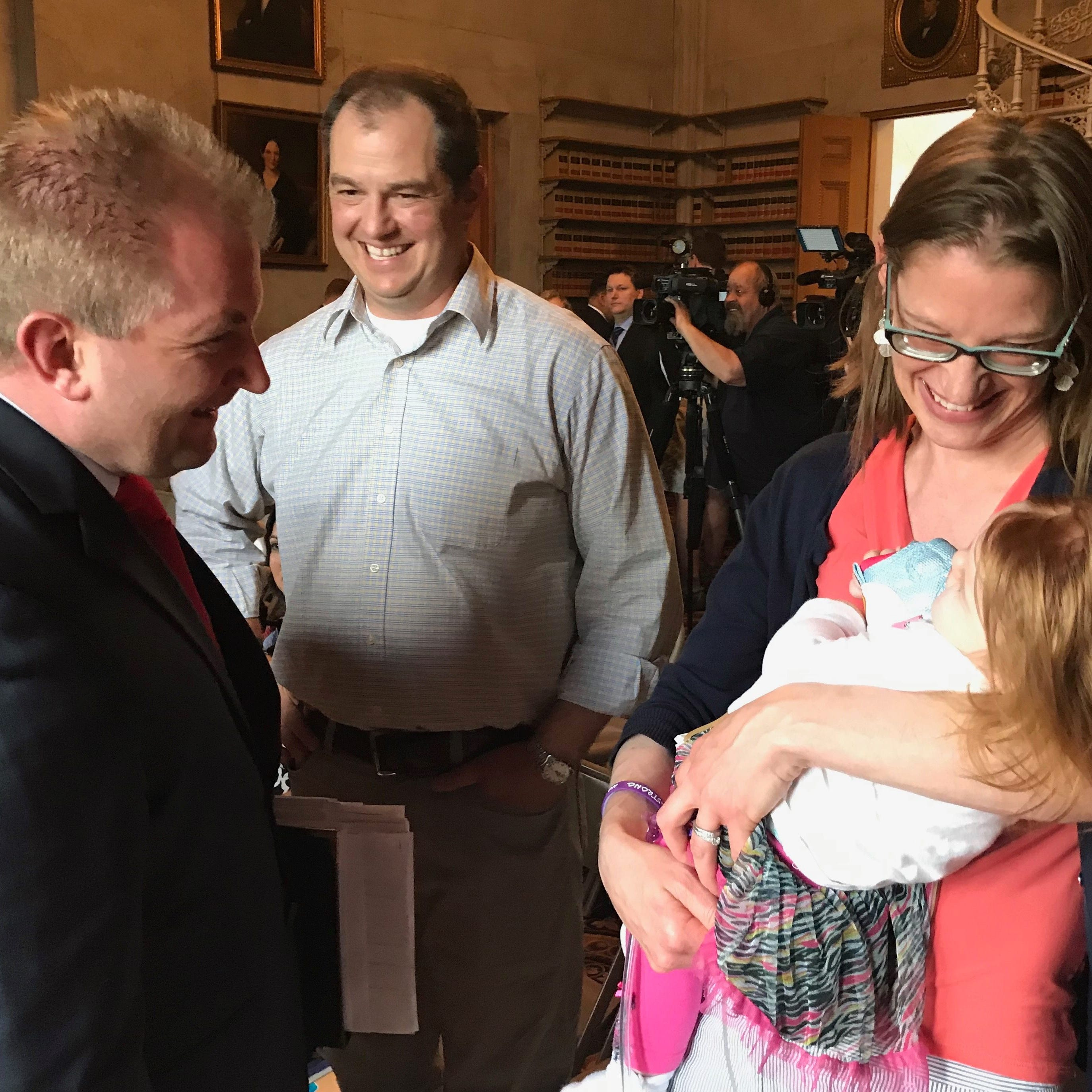After closed-door talks, lawmakers agree to fully fund Medicaid waiver for disabled children