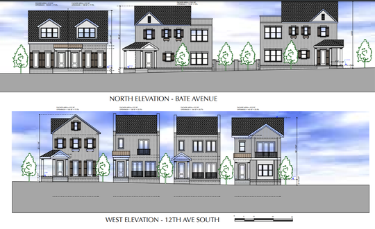 Southside Community Church will be razed for ten single-family homes in 12 South