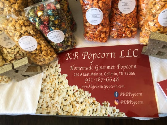 """KB Popcorn's homemade gourmet popcorn comes in """"unique"""" flavors, including hot cheddar, bacon-wrapped jalapeno, banana pudding, strawberry cheesecake and more. Its owners hope to audition the Gallatin business on ABC's Shark Tank in the reality show's 11th season."""