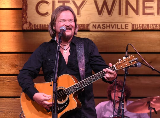 "Travis Tritt performs during ""We All Come Together"" for John Berry and Music Health Alliance Tuesday night at City Winery."