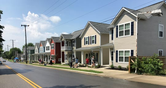 Village Green is a walkable community, near coffee shops and other amenities.