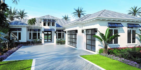 The  Caprina model will include 3,770 square feet of living area in a four bedroom, four and a half bath plus study floor plan with three-car garage.