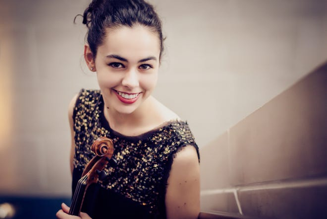 Violinist Misty Drake