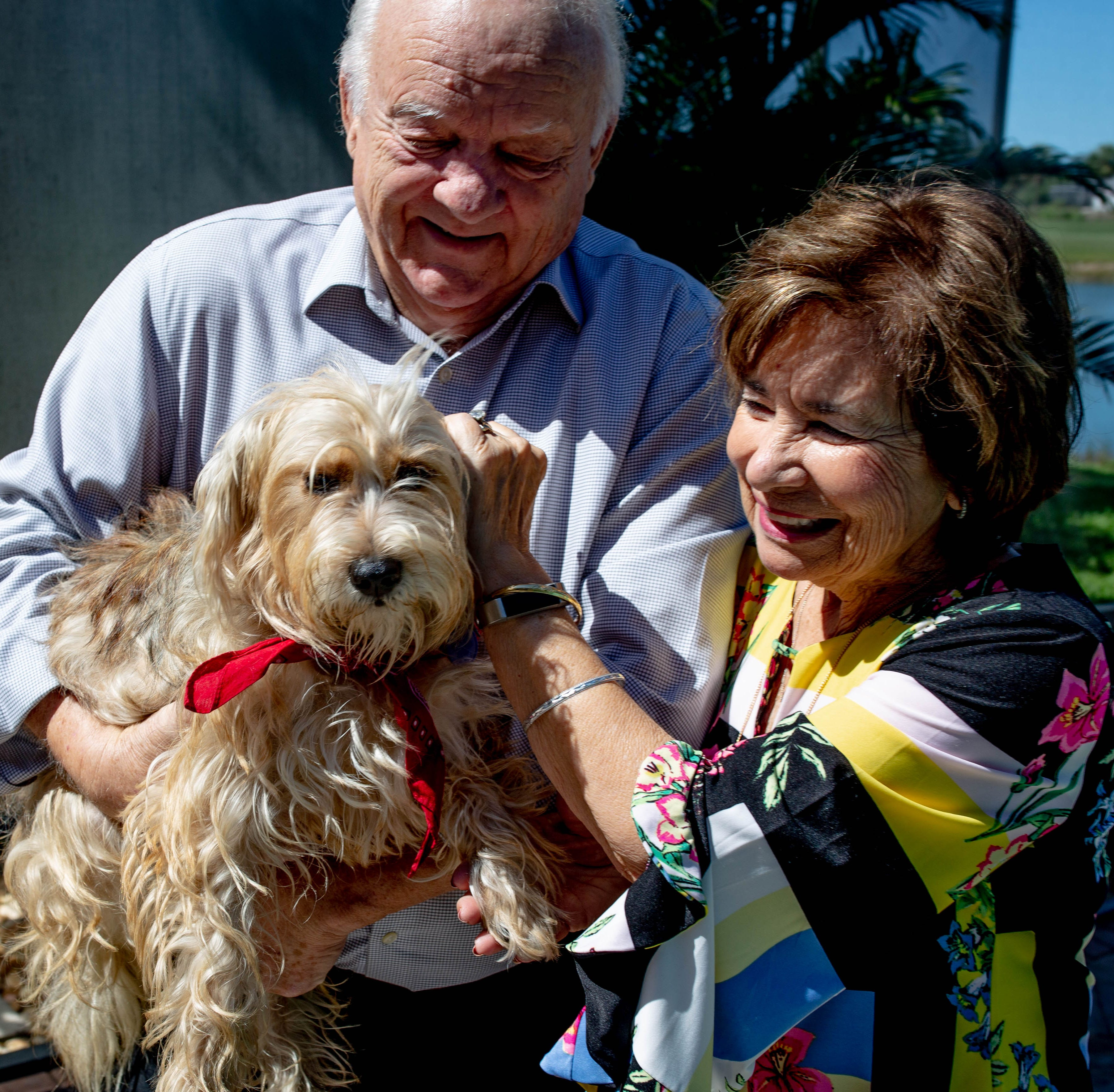 Naples couple's rescue of shelter pup to be featured on CBS's 'Lucky Dog'