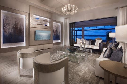 Priced at $2,399,990 fully-furnished, the Wyndam model offers 4,298 square feet under air.