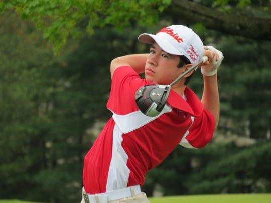 Freshman Thomas O'Neill has provided invaluable depth for the top-ranked Bergen Catholic golf team.