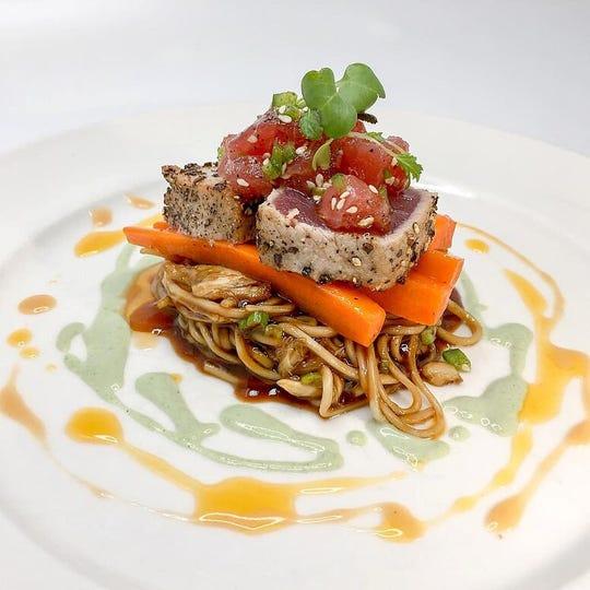 Cafe Matisse's tuna app