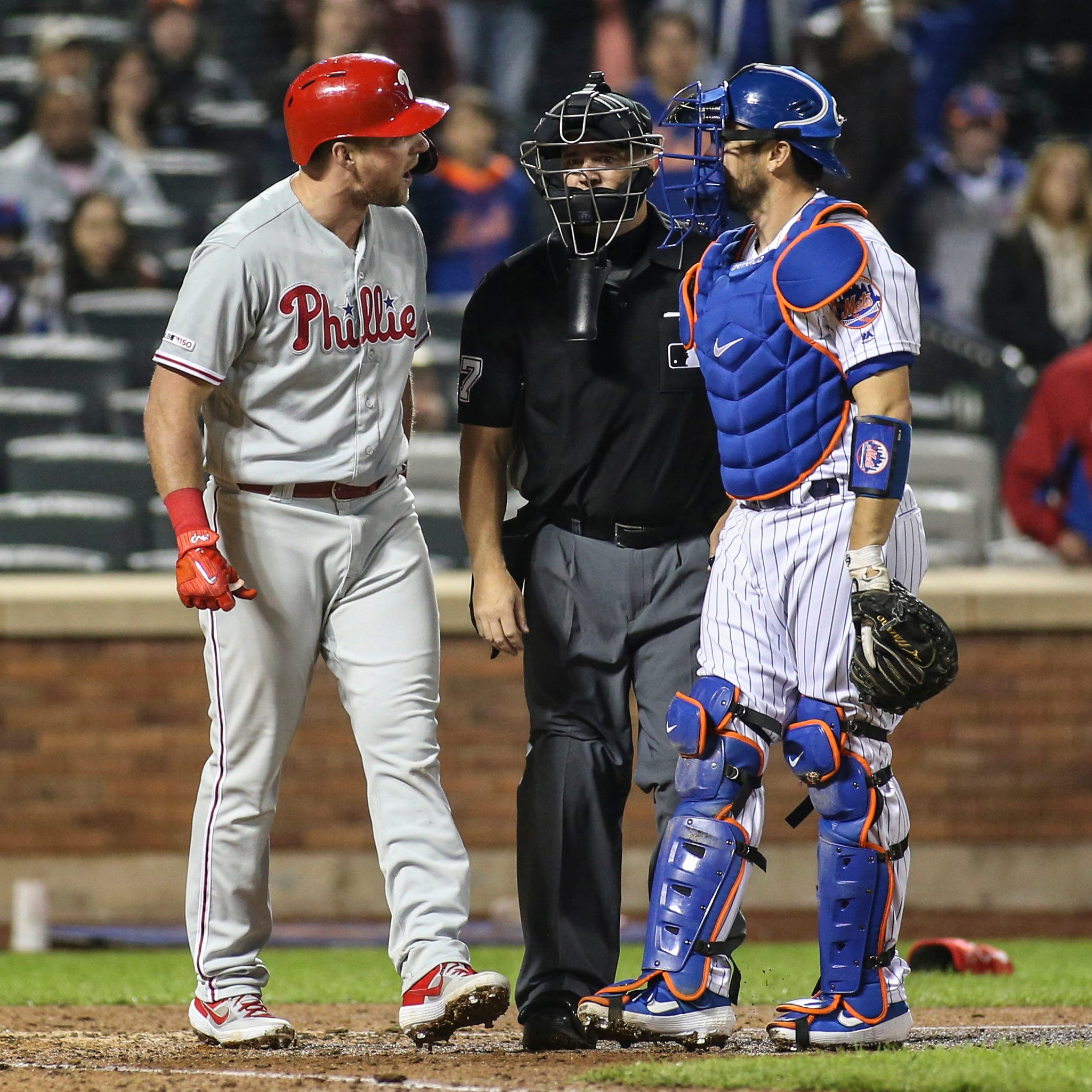 Mets not concerned with possible retaliation by Phillies