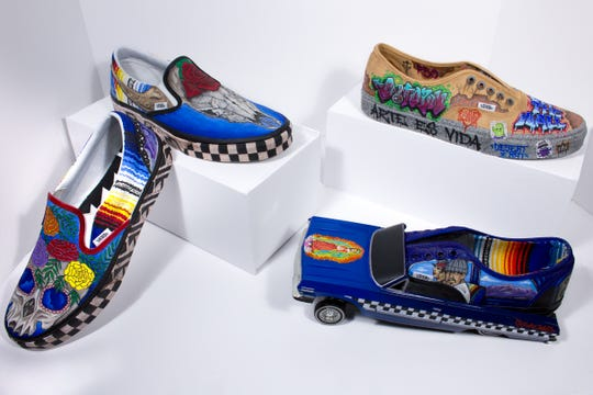 Deming High School's art department submission to Vans' Custom Culture Contest.