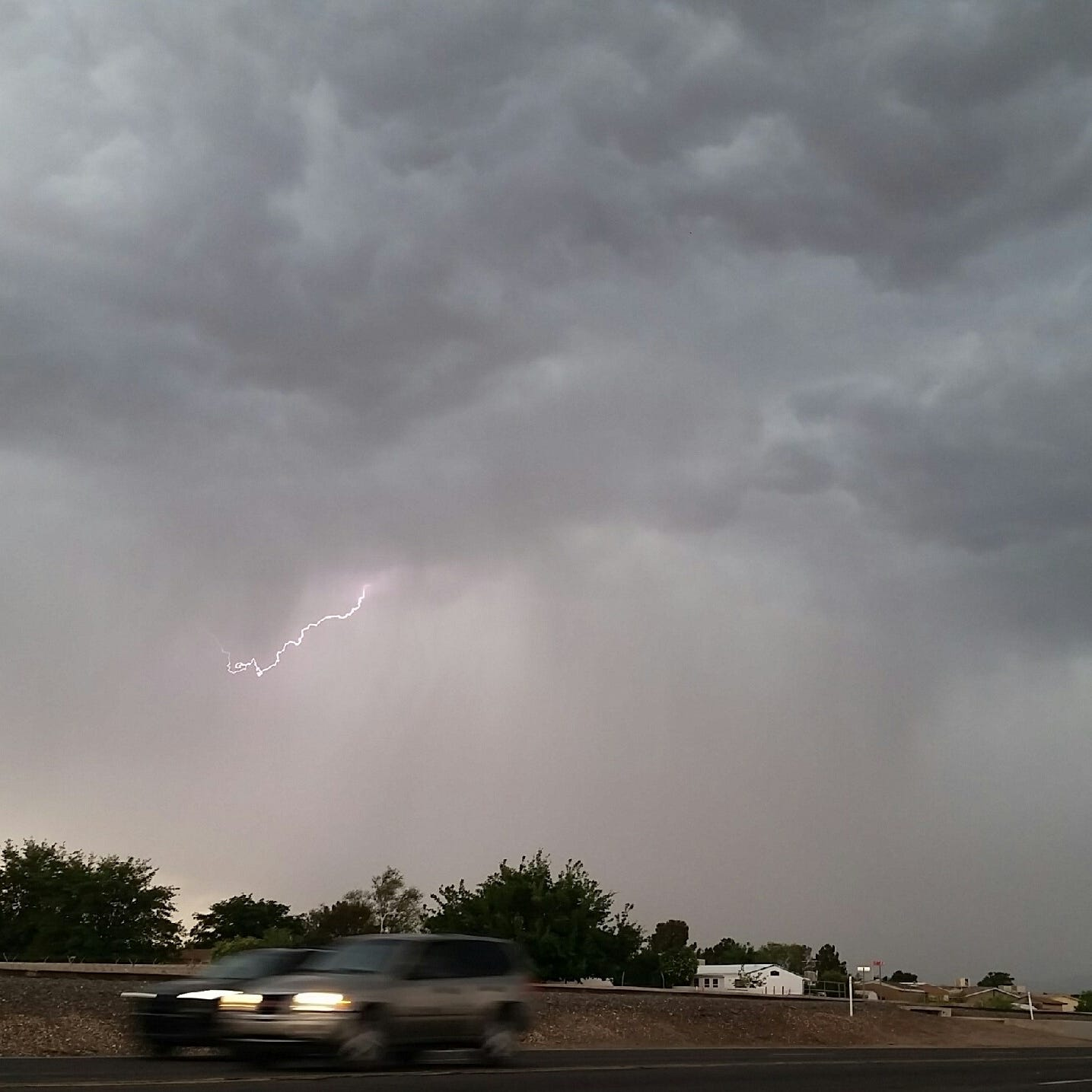 Hail, more than 1 inch of rain possible over next several days in southern New Mexico