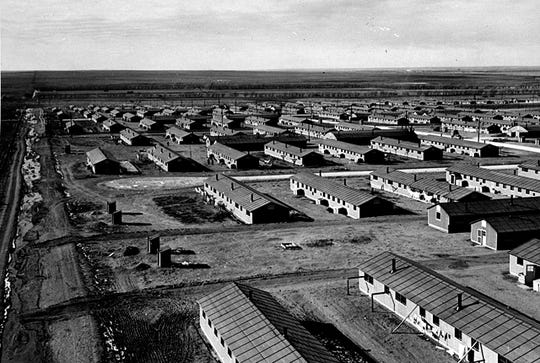 New Mexico created four camps to house Japanese-Americans during WWII.
