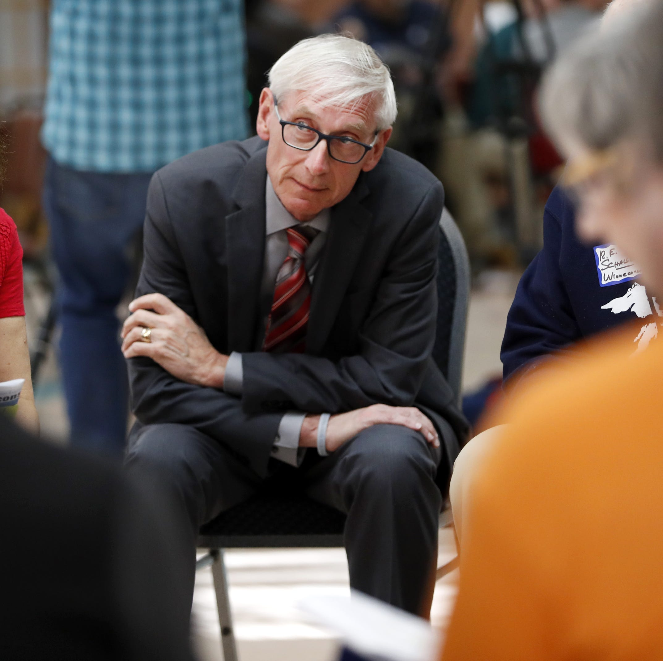 Health care, education among hot topics at Tony Evers' budget listening session in Oshkosh