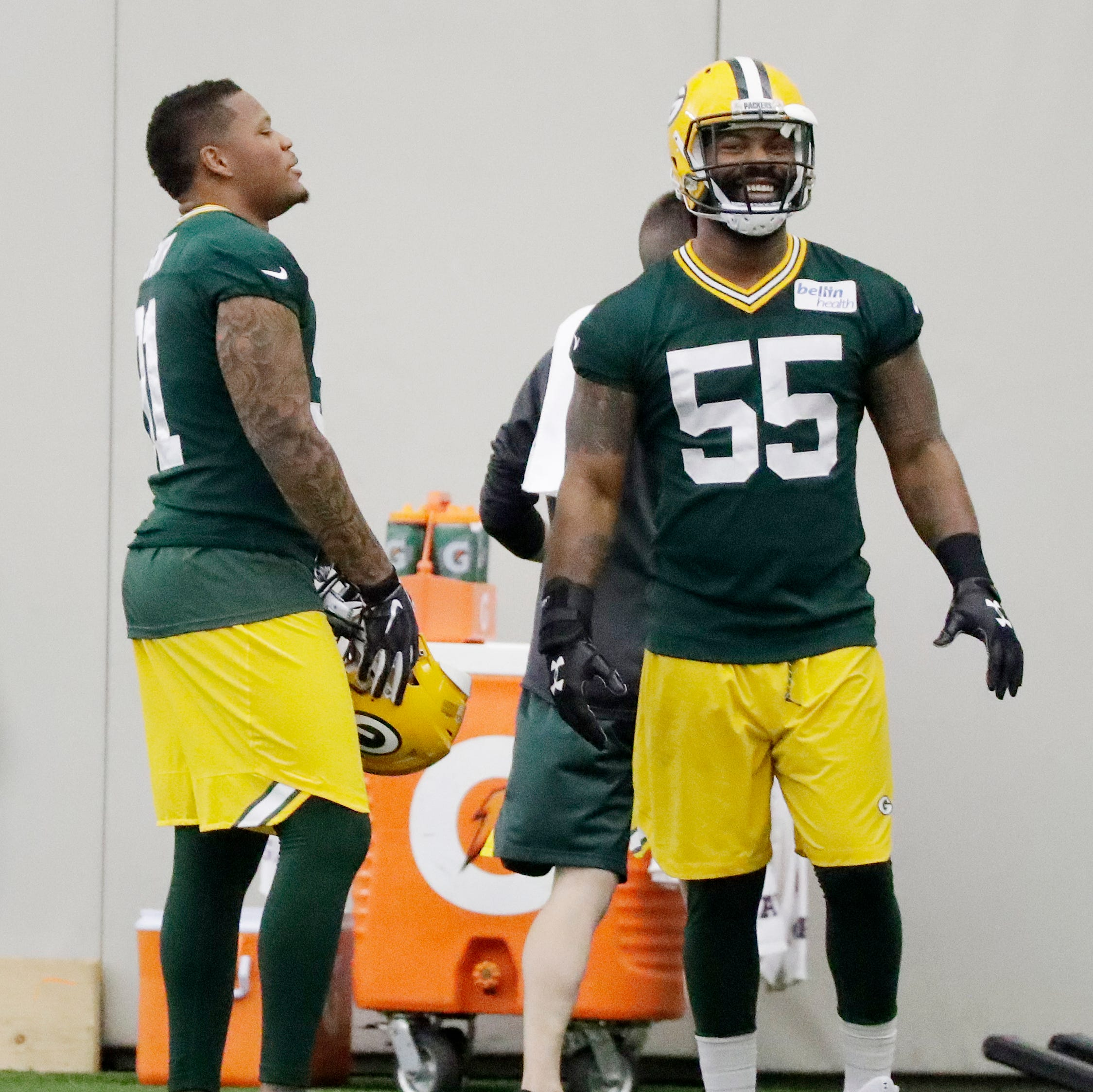 Packers notes: Za'Darius and Preston Smith, Rashan Gary mixing and matching up front