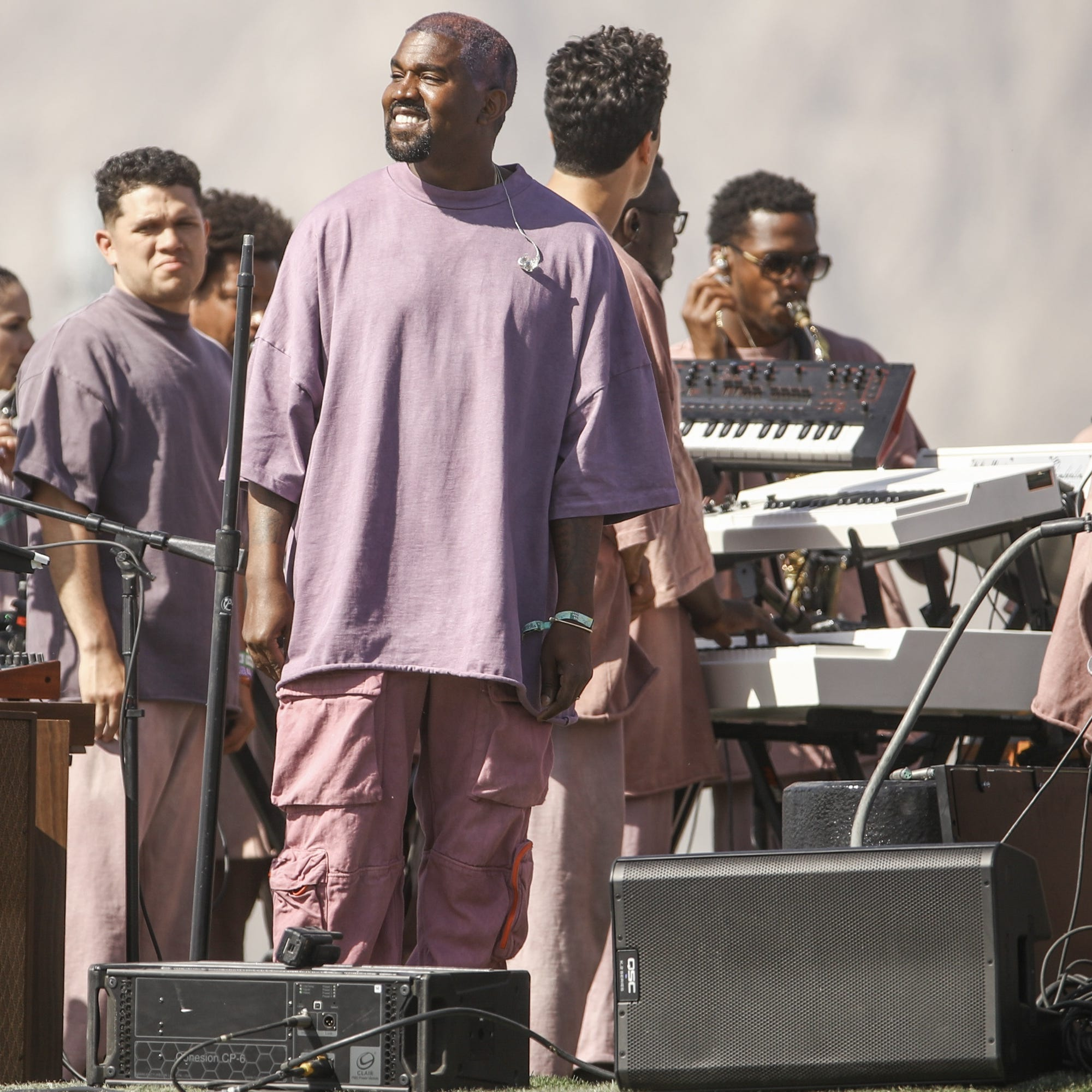 Kanye West paid $9K to rehearse at CVHS for Coachella Weekend 2
