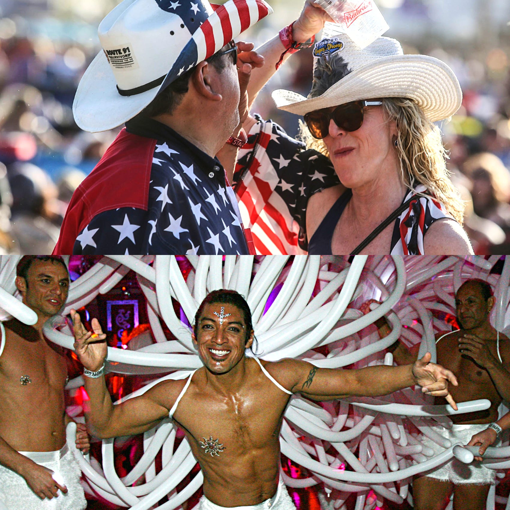 Stagecoach, White Party battle for top weekend event in the California desert