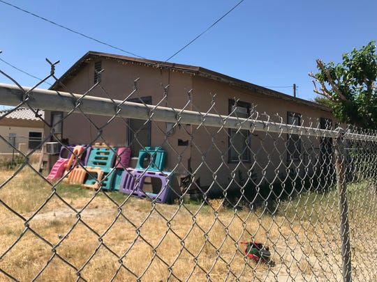 The Coachella home of Deborah Sue Culwell, arrested earlier this week on suspicion of animal cruelty and animal abandonment, was quiet Wednesday morning, April 24, 2019.