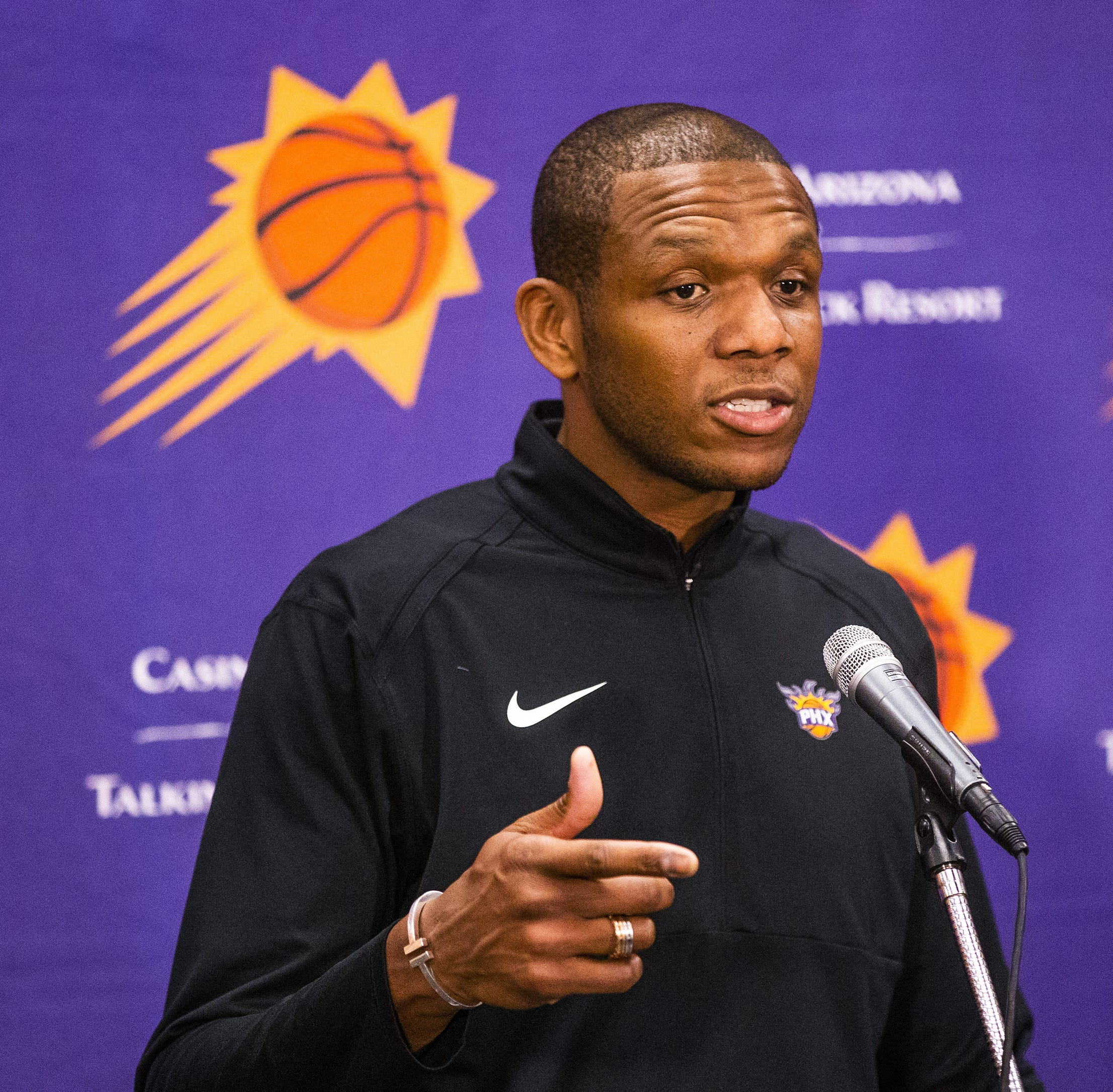 Phoenix Suns: GM James Jones addresses draft, combine, Monty Williams and Josh Jackson