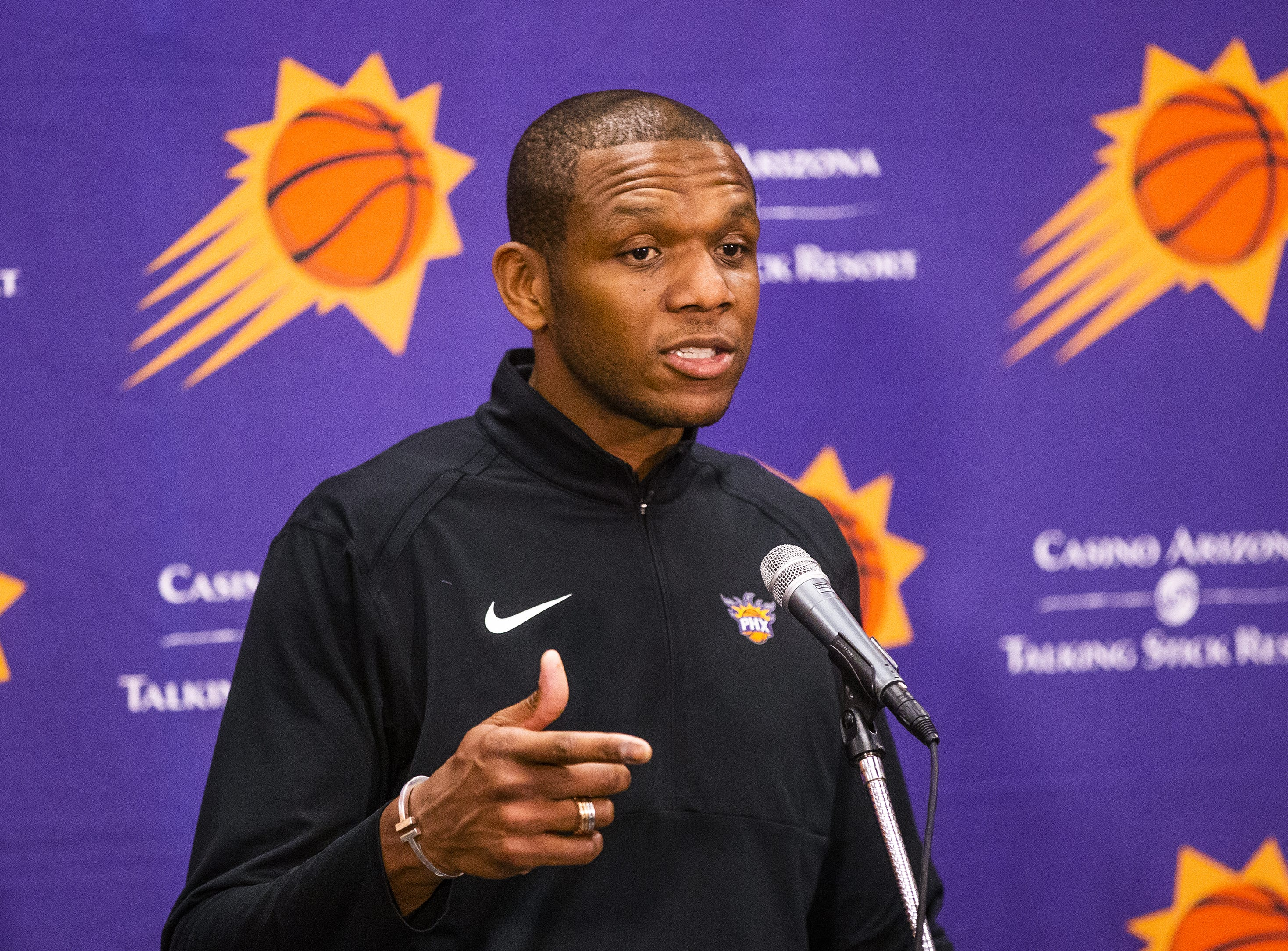 James Jones spent 14 years in the NBA as a player with the Miami Heat, Cleveland Cavaliers, Phoenix Suns, Indiana Pacers and Portland Trail Blazers.