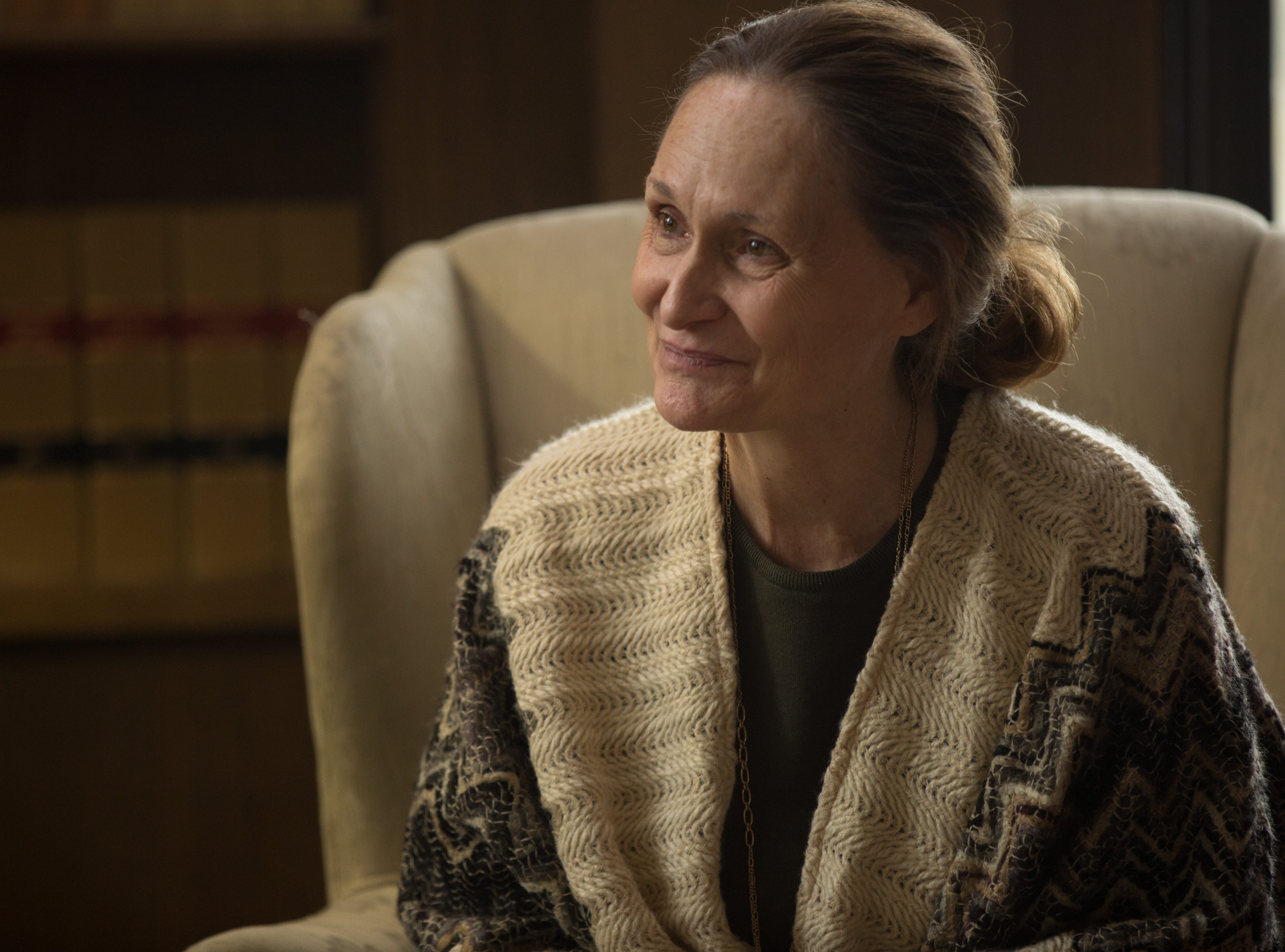 """Dr. Godwin Thomas (Beth Grant) discovers the remains of a Neanderthal in """"William."""""""