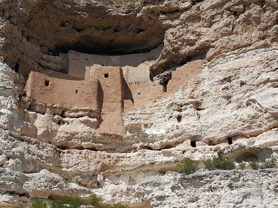 Montezuma Castle trip.