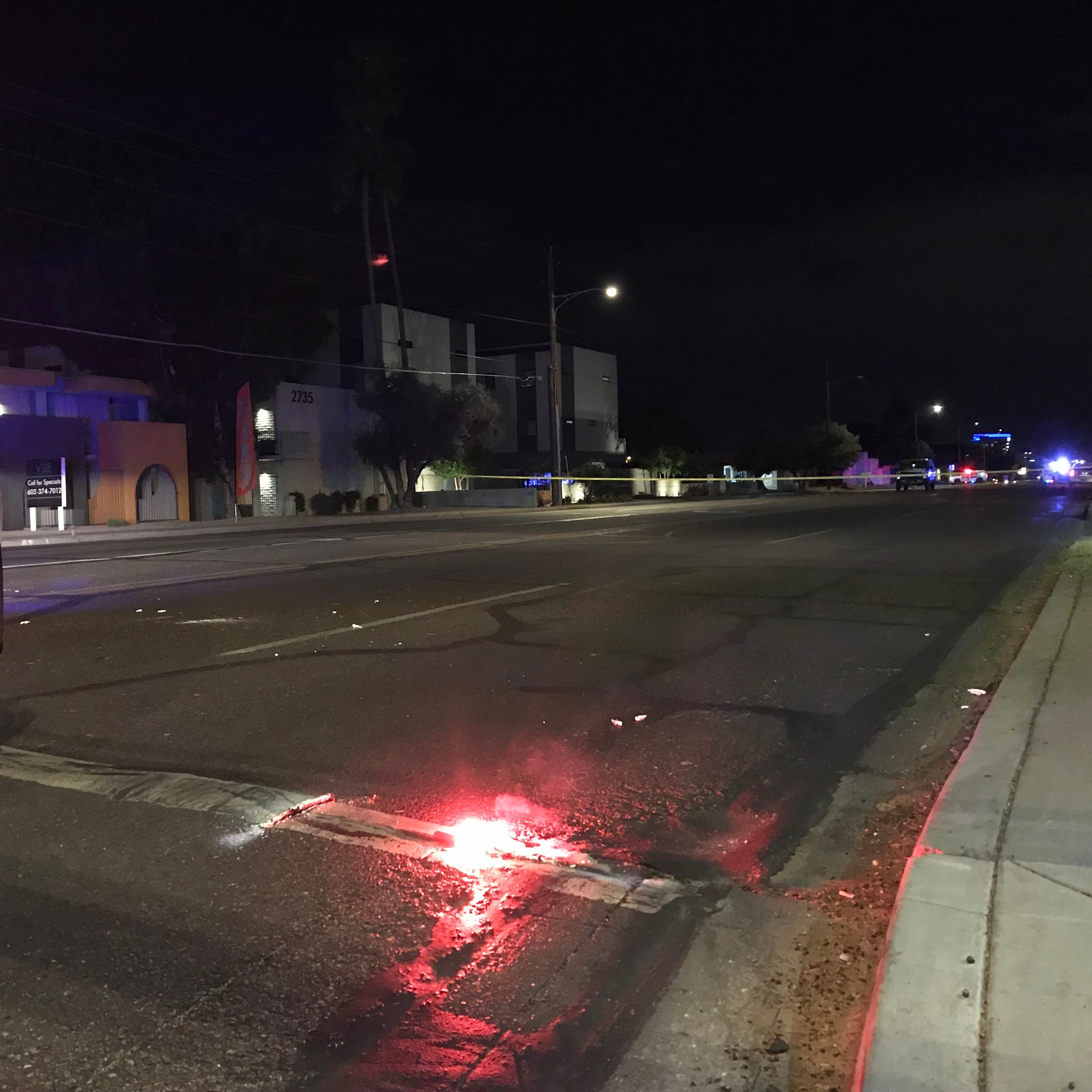 Serious crash shuts down Thomas Road in east Phoenix