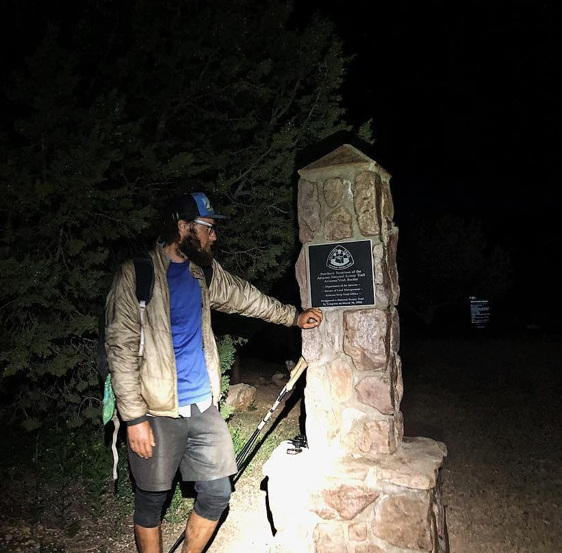 This hiker's Arizona Trail experience? 800 miles. 15 days, 13 hours. A new record. And a beer.