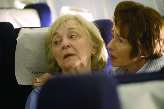 "Rebecca Schull (left) and Susan Blommaert star in ""United 93"" (2006)."