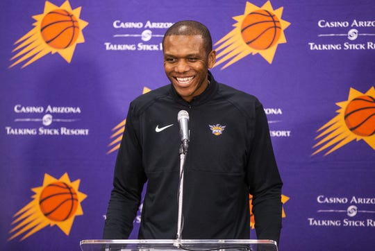 The Suns named James Jones their next general manager on April 11.