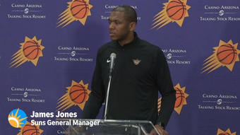 Suns General Manager James Jones says that Devin Booker was not involved in decision making process before firing Igor Kokoskov.
