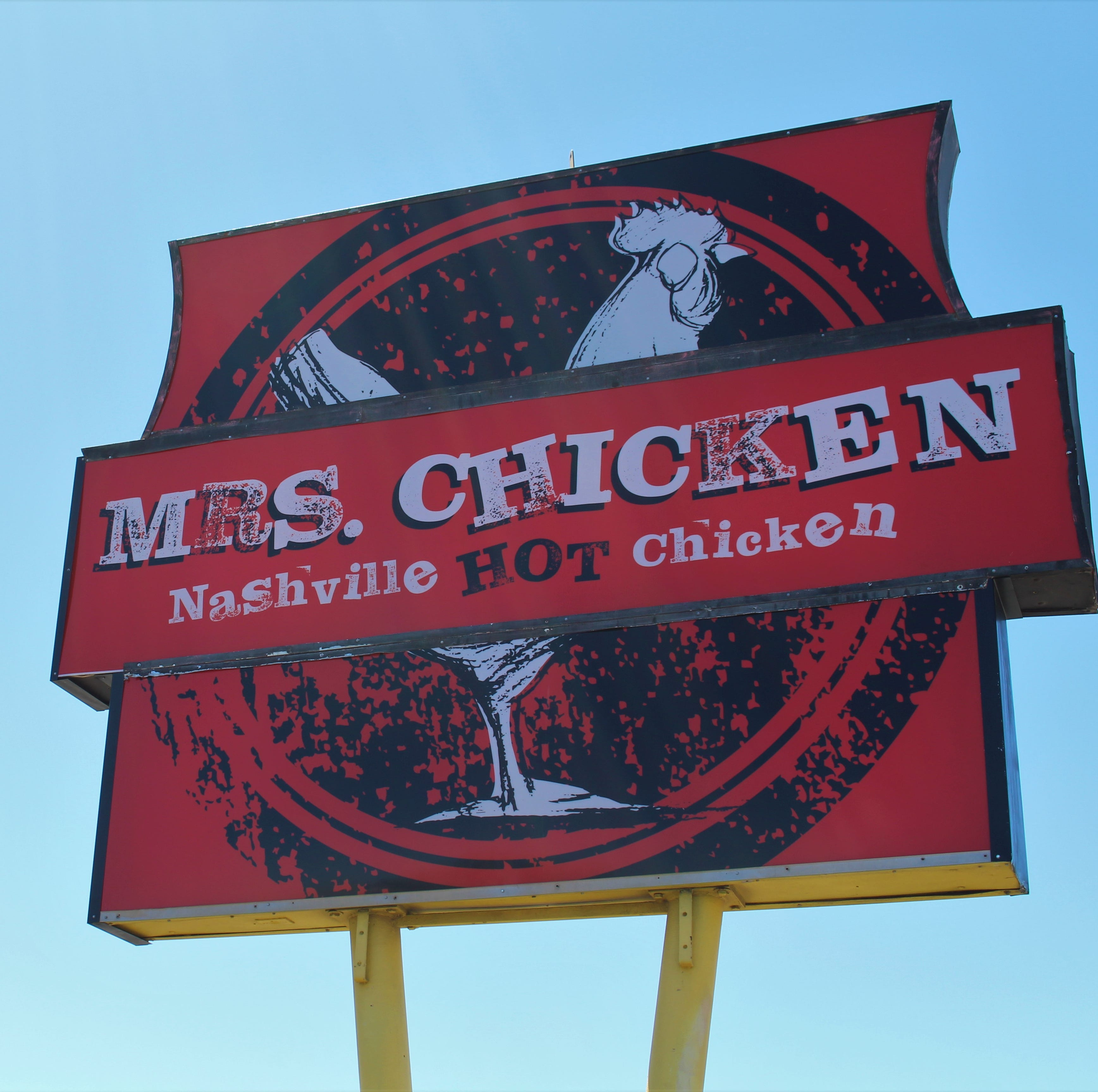 Mrs. Chicken is finally open. Here's a look at the Nashville-style hot chicken restaurant's menu