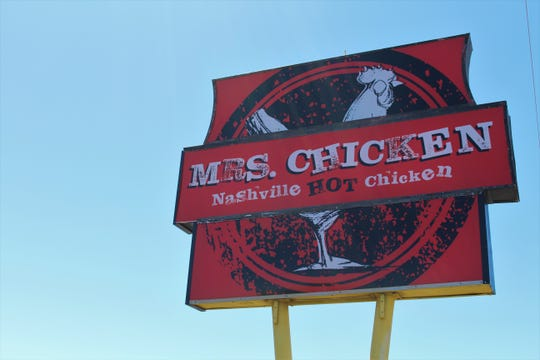 Mrs. Chicken, Phoenix's second Nashville-style hot chicken restaurant, opened on April 20, 2019.