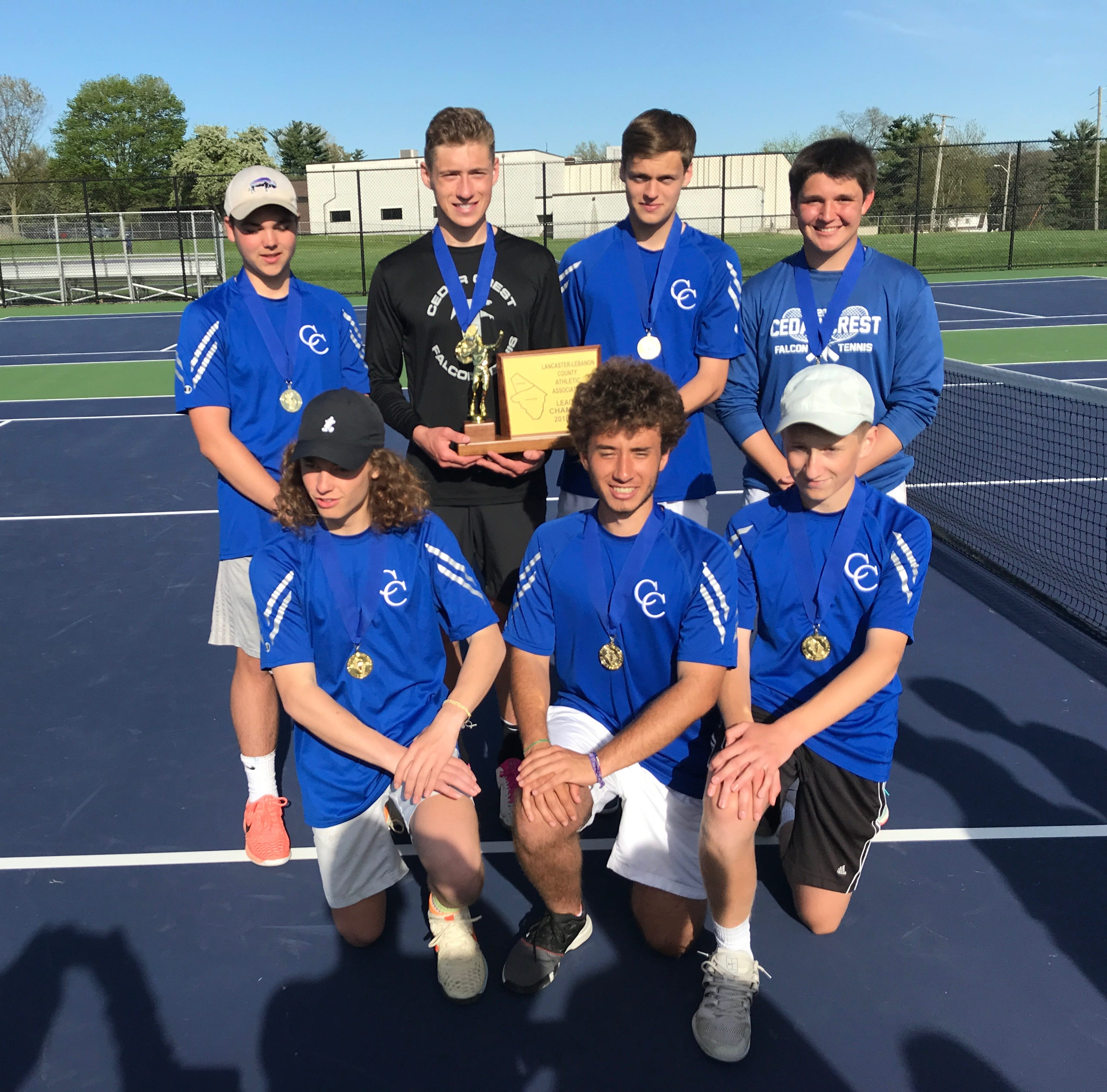 Cedar Crest boys capture L-L championship with tight win vs. Pequea Valley