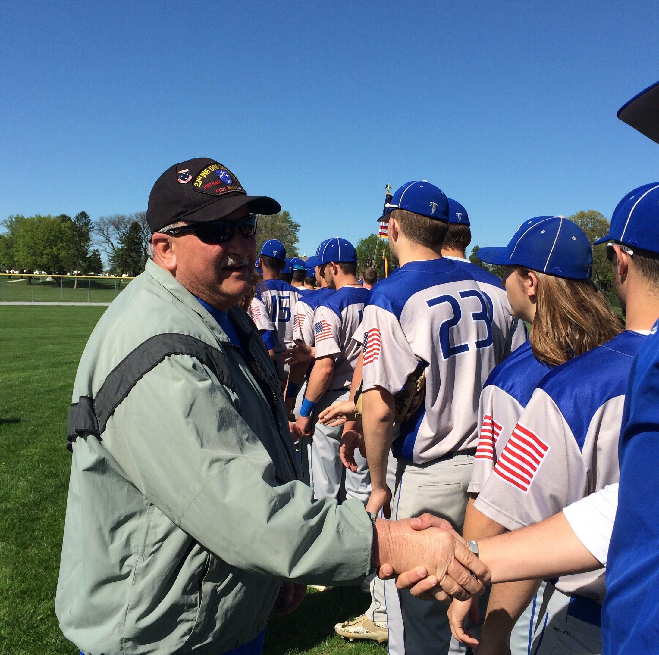 Cedar Crest baseball falls to Hempfield on Salute to Veterans Day