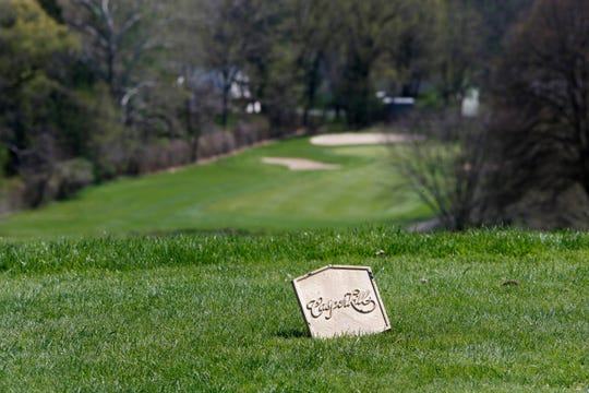 Casperkill Golf Club in the Town of Poughkeepsie on April 24, 2019.