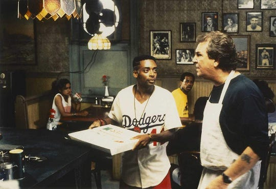 """Spike Lee and Danny Aiello star in """"Do the Right Thing,"""" screening Friday at the Capitol Theatre during the Black Film Series."""